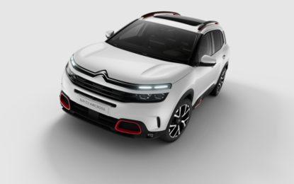 SUV Citroën C5 Aircross: un gennaio di offerte per tutti