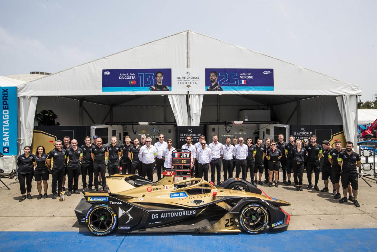 Formula E: primo podio per Da Costa con DS TECHEETAH