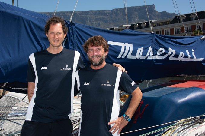 Cape2Rio: vento in poppa per Maserati Multi 70 e Soldini. A bordo anche John Elkann