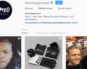 Una cosa ci unisce a Magnussen: l'allergia a Instagram!