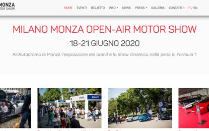 Milano Monza Motor Show: poster ufficiale e nuovo sito