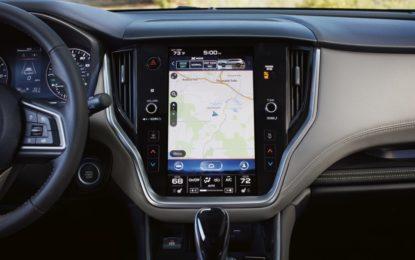 TomTom per Subaru Outback e Legacy 2020