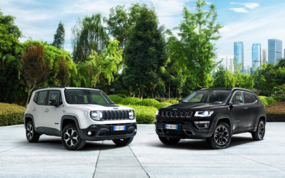 "Jeep nell'elettrico con Renegade e Compass 4xe ""First Edition"""