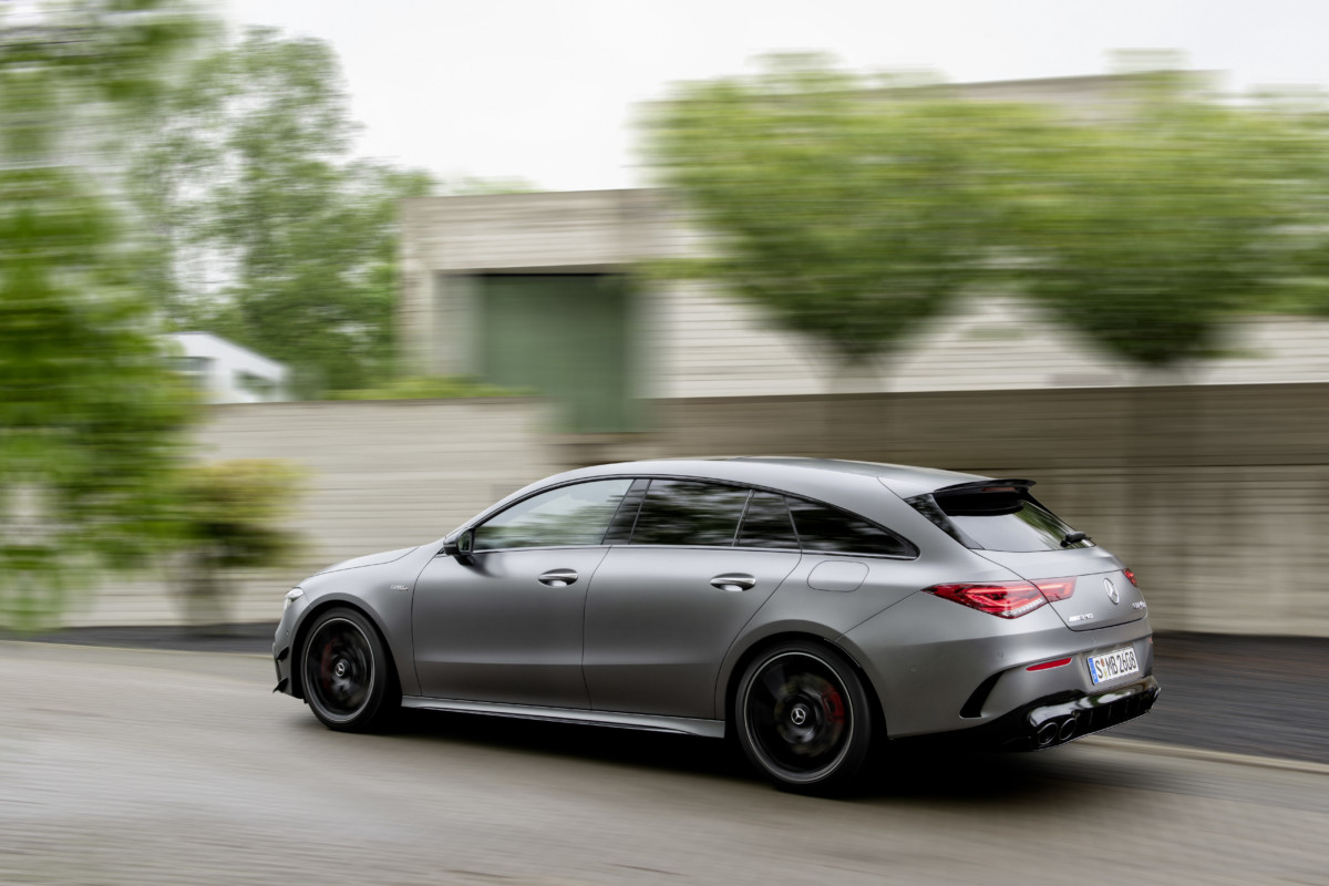 Nuova Mercedes-Benz CLA Shooting Brake