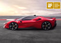 iF Design Gold Award alla Ferrari SF90 Stradale