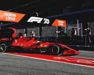 Quasi 570 km per la SF1000 con Vettel e Leclerc