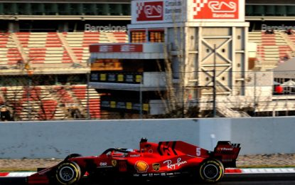 Il programma Ferrari per il secondo test. Individuato il problema alla PU