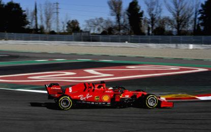 Test F1: la Ferrari SF1000 macina km con Vettel e Leclerc nel primo giorno