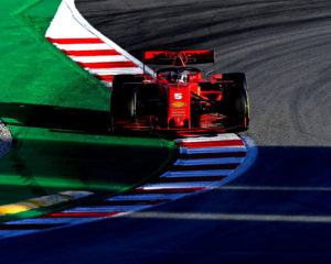 Test F1: per Vettel simulazione di un intero weekend di gara