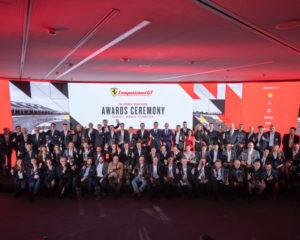 La premiazione dei campioni Ferrari nelle serie GT