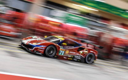 Il FIA WEC nel weekend in pista al COTA