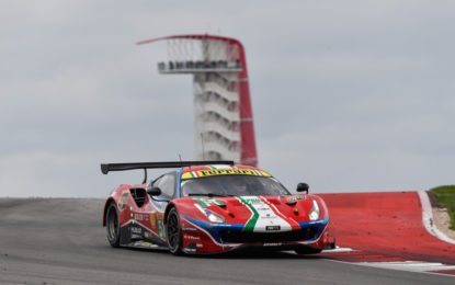 WEC: Ferrari sul podio al COTA, leadership in classe Am