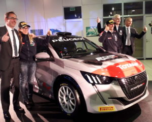 Ucci-Ussi tornano nel CIR con nuova Peugeot 208 Rally 4