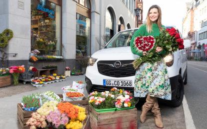 Opel Combo pronto per le consegne di San Valentino