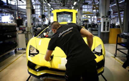 Lamborghini è Top Employer Italia 2020