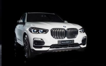 BMW e Alcantara firmano la serie limitata X5 Timeless Edition
