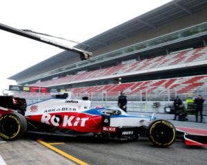 ROKiT Williams Racing svela la Williams Mercedes FW43