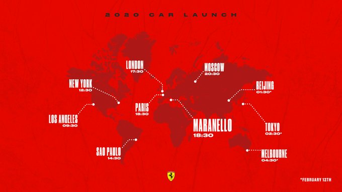 Conto alla rovescia per la presentazione Ferrari