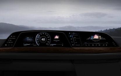 Sulla Cadillac Escalade il primo cruscotto P-OLED di LG al mondo