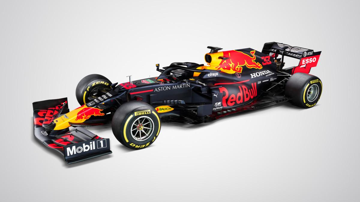 Red Bull RB16: livrea che piace non si cambia