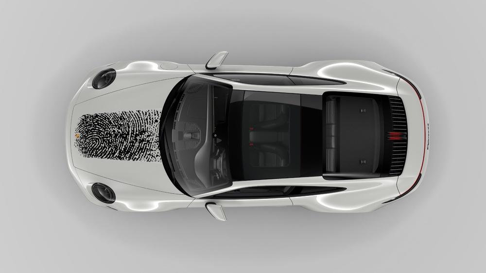 Porsche 911 unica, come un'impronta digitale