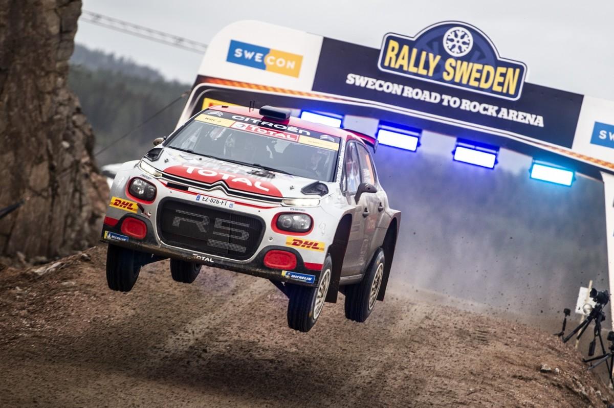 Svezia WRC2: seconda vittoria consecutiva per C3 R5