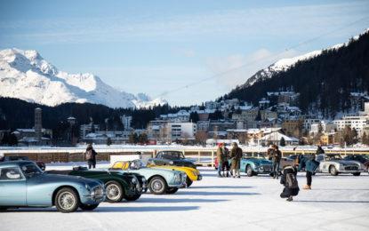 The I.C.E. St.Moritz: concorso d'eleganza sul lago ghiacciato