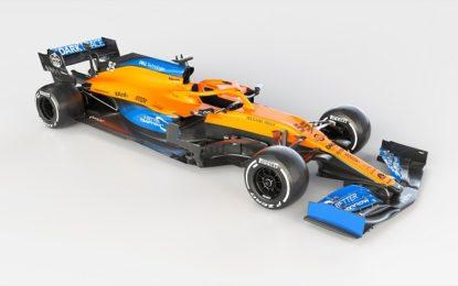 Presentata la McLaren MCL35