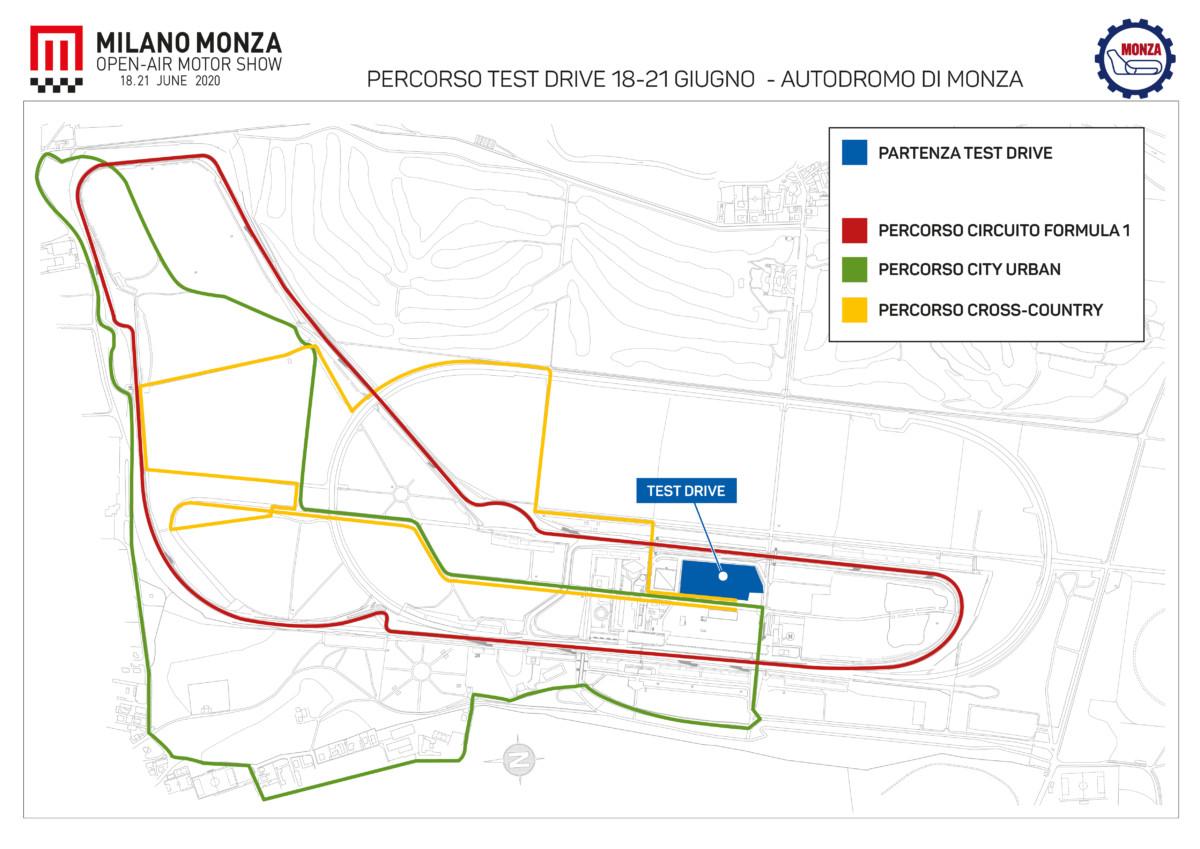 A Milano Monza Motor Show test drive di tutte le motorizzazioni per tutti