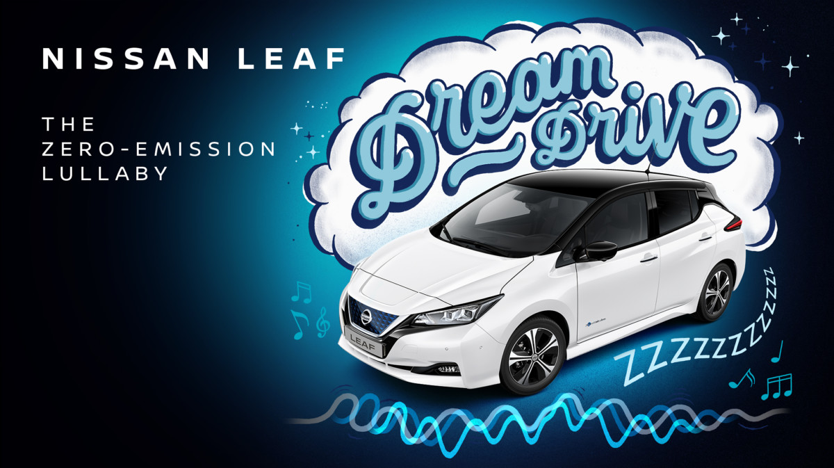 Nissan LEAF Dream Drive: ninnananna a emissioni zero