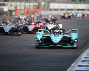 Formula E: a Evans e Panasonic Jaguar Racing il round in Messico