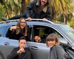 A Sanremo con i 'The Jackal' e Mercedes GLB