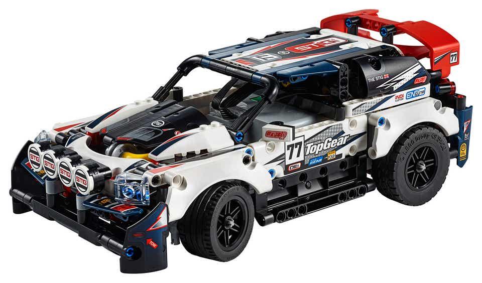 Stig e l'auto da Rally Top Gear telecomandata LEGO Technic