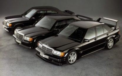 30 anni fa il debutto della Mercedes 190 E 2.5-16 Evolution II