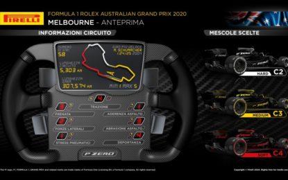 Pirelli: anteprima GP Australia 2020