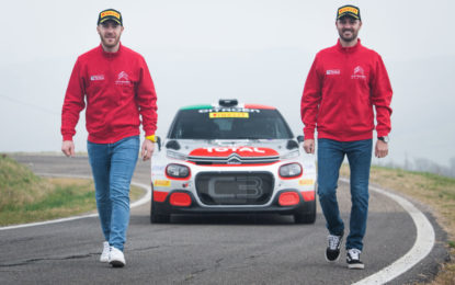 CIR 2020: Citroën Italia pronta con la C3 R5, Crugnola e Ometto