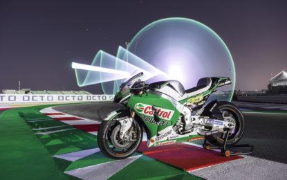 La Honda RC213V MotoGP del Team LCR per #aiutiAMObrescia