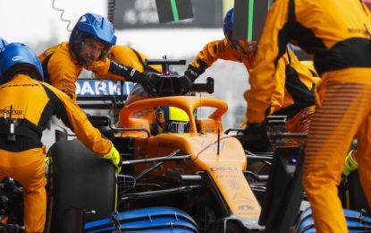 La McLaren si ritira dal GP d'Australia per un caso di coronavirus