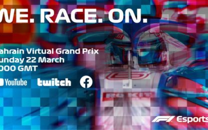 Il GP del Bahrain virtuale anche su Sky. Piuttosto che niente…