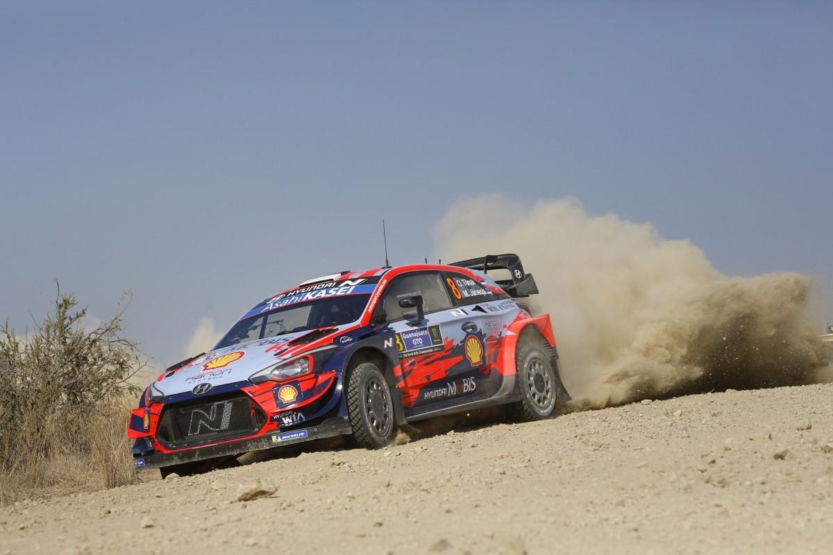WRC: secondo posto in Messico per Hyundai Motorsport