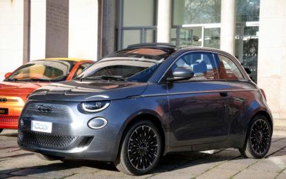 La Fiat 500 diventa full electric. Ed è tutta nuova
