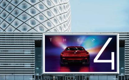 Nuovo design del marchio BMW per la comunicazione