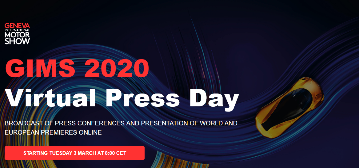 Ginevra: conferenze e anteprime live, anche se in streaming
