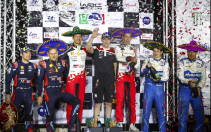 WRC: in Messico prima vittoria per Ogier con Toyota Gazoo Racing