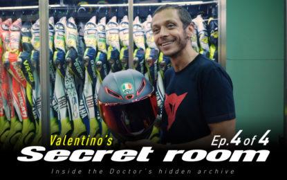 Con Dainese alla scoperta dei caschi di Valentino Rossi
