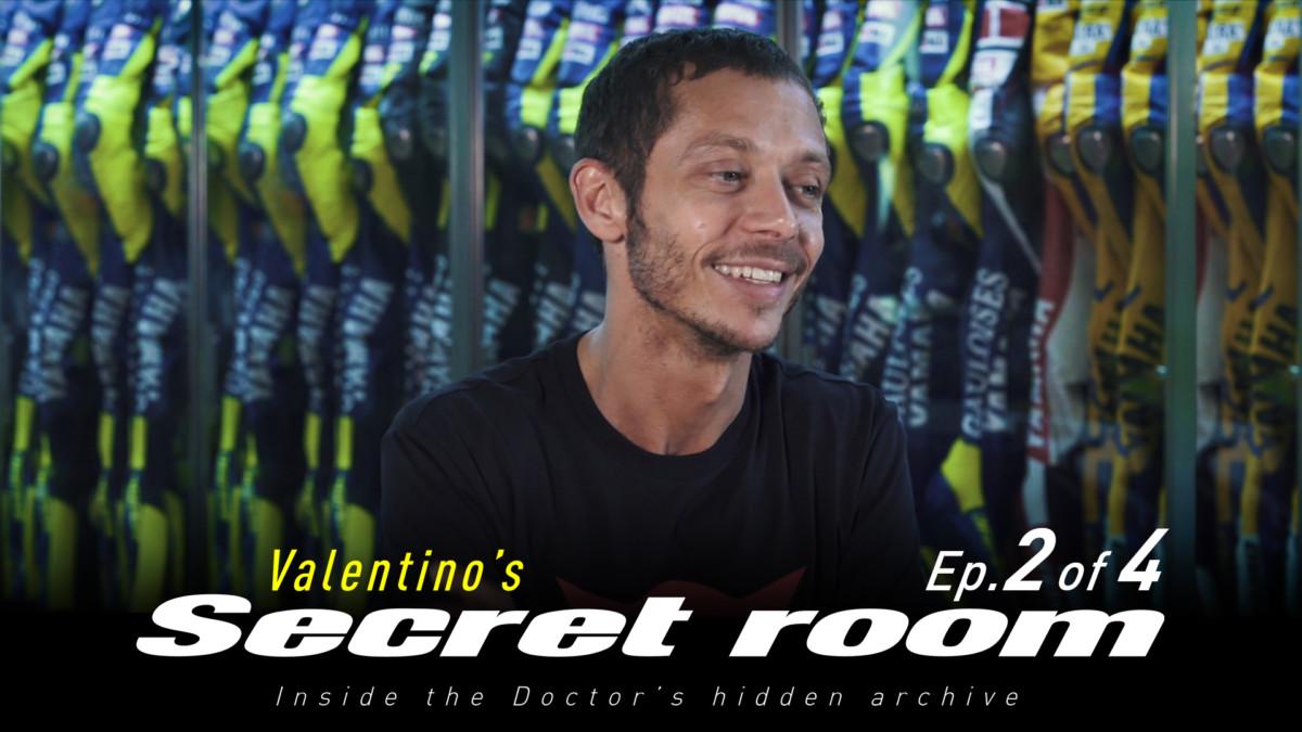 Con Dainese nella stanza segreta di Valentino: il secondo episodio