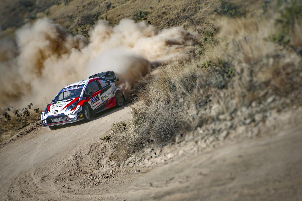 WRC Messico: Ogier e la Toyota Yaris al comando