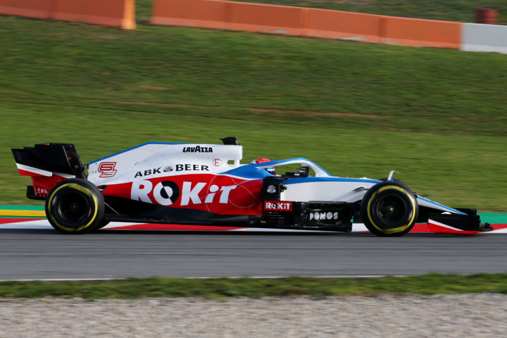 Williams Racing FW43 Film day