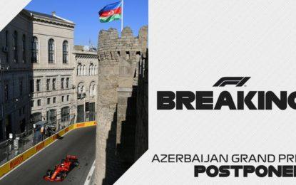 Posticipato anche il GP dell'Azerbaijan. E otto…