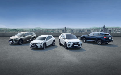 I SUV ibridi Lexus a quota 250mila vendite in Europa
